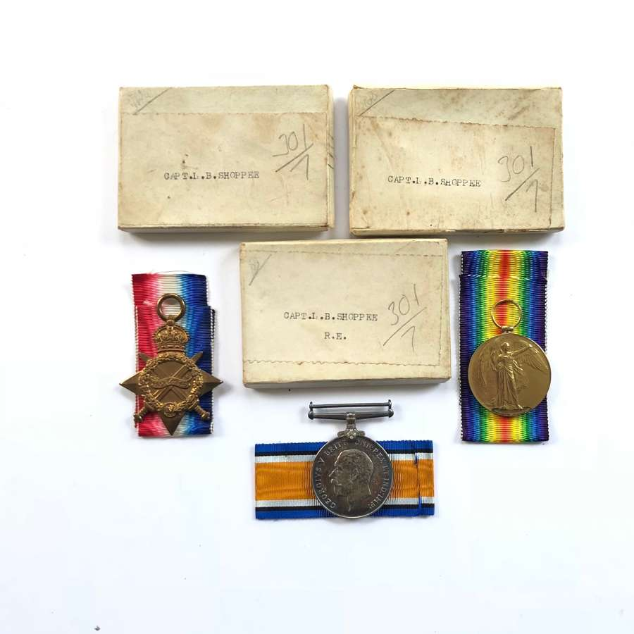 WW1 / WW2 Royal Engineers Officers Father & Son Groups of Medals