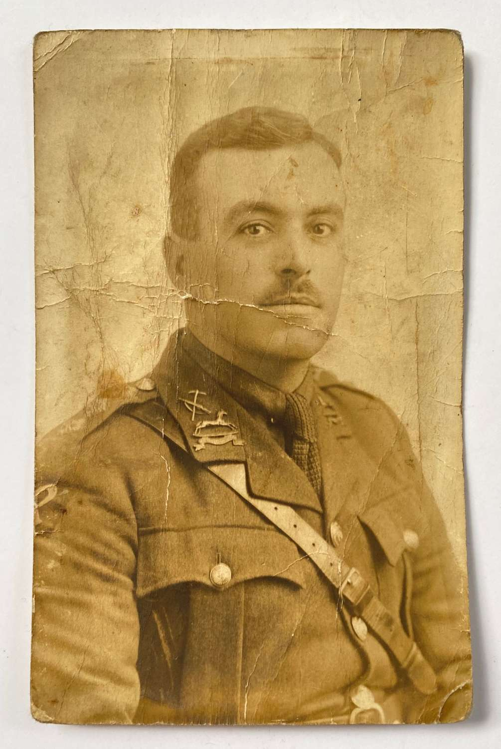 WW1 21st (Wool Textile Pioneers) West Yorkshire Regt Photograph