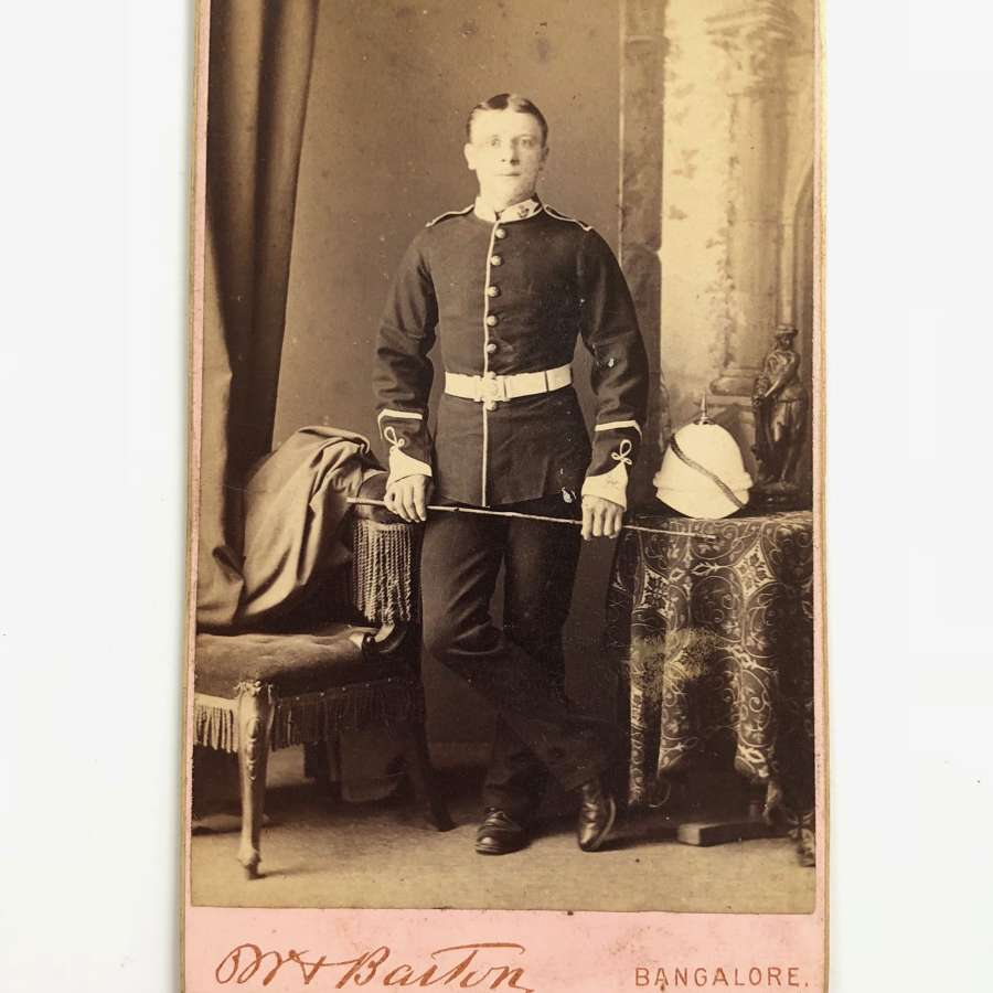 Victorian Ox & Bucks Carte de Visite Photograph
