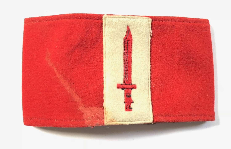 British Army Armband.