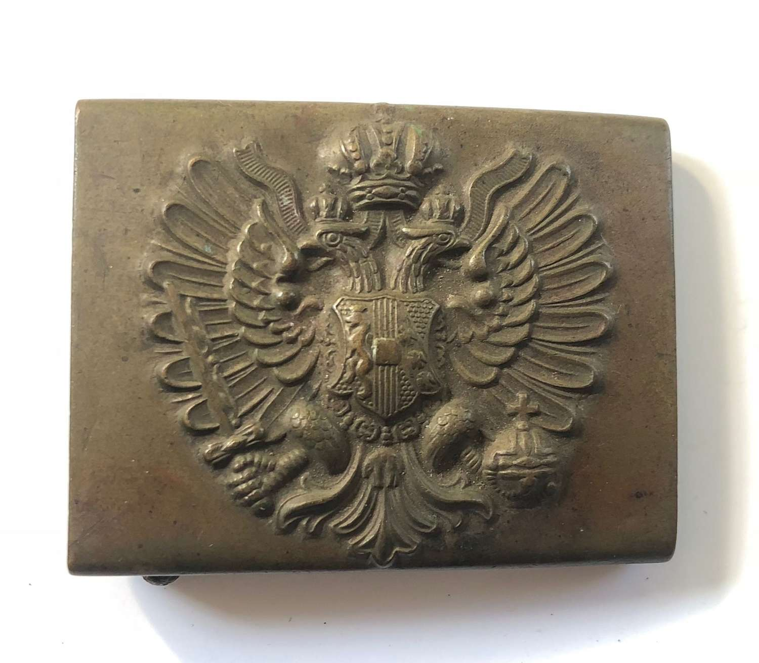 WW1 Imperial Austrian brass belt buckle.