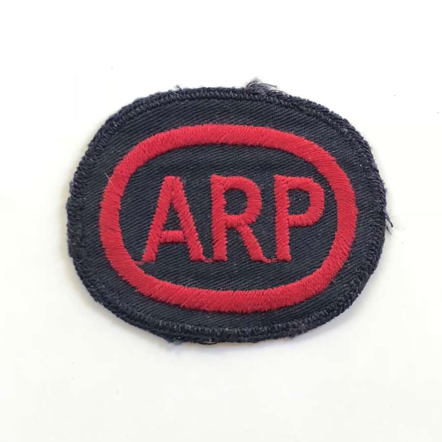 "WW2 Home Front ""ARP"" Overall Breast Badge."