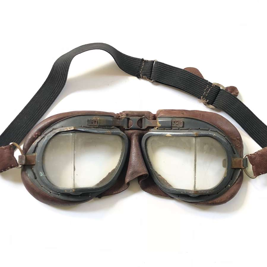 WW2 Period RAF MK8 Flying Goggles.