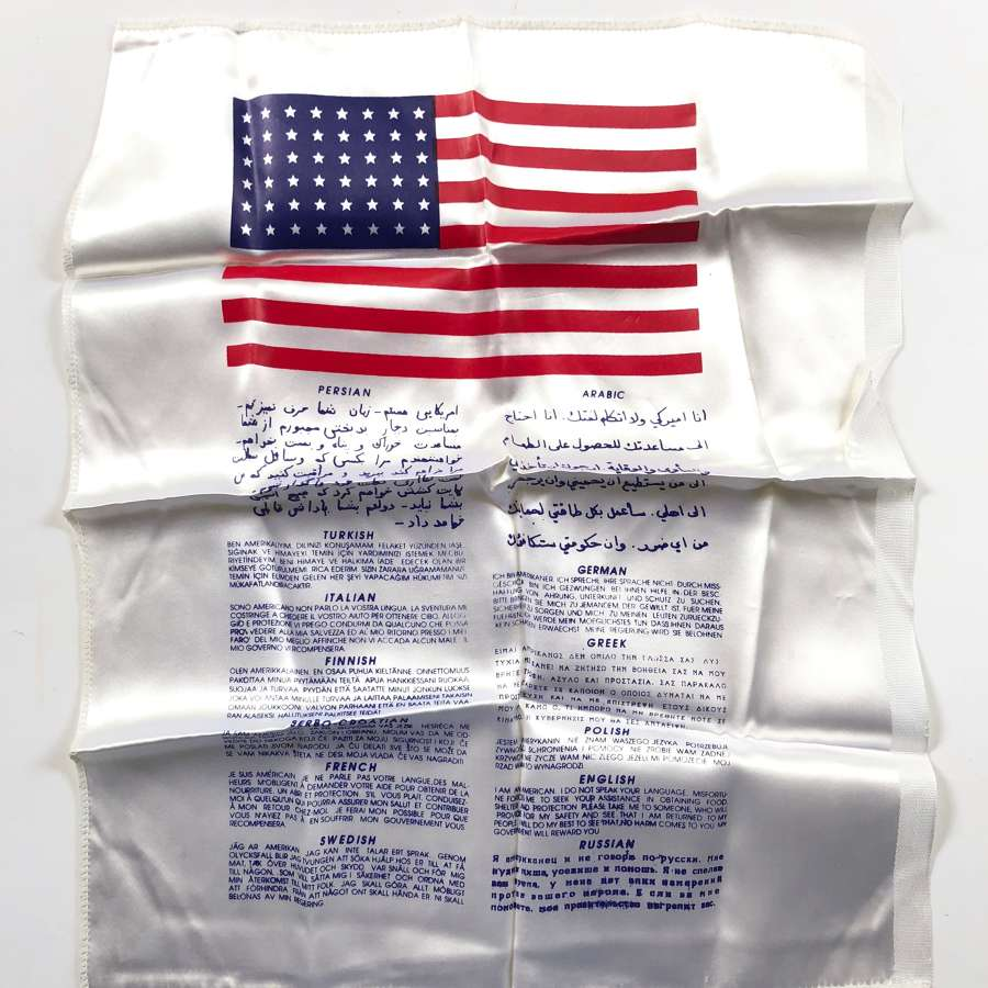 US Desert Storm 1st Gulf War Blood Chit.
