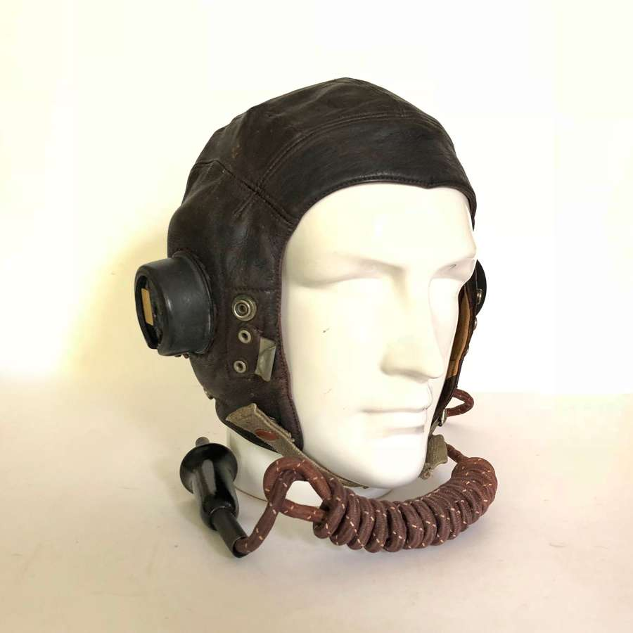 RAF WW2 Pattern C Type Flying Helmet.