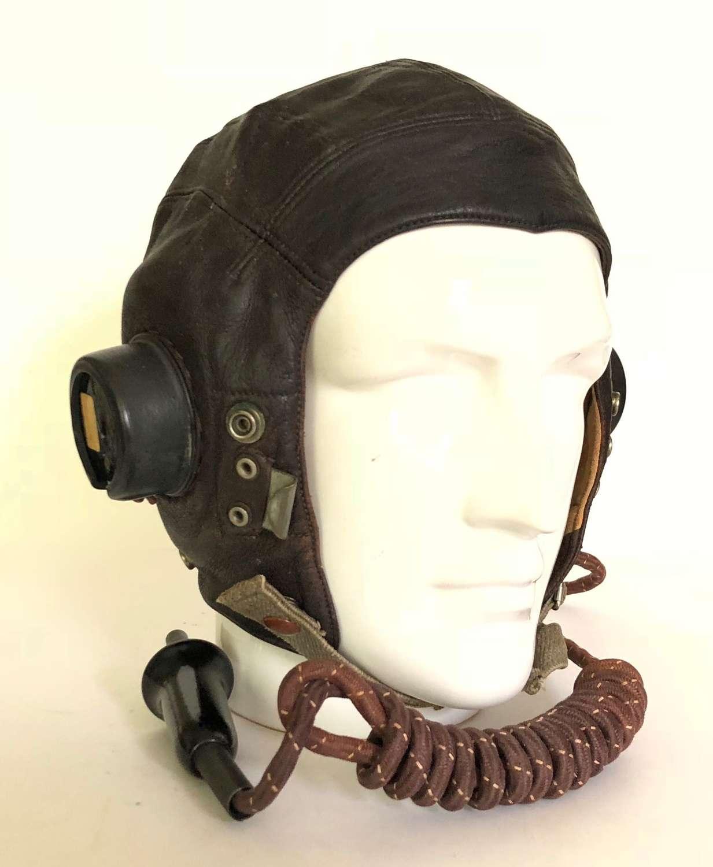 RAF WW2 Pattern C Type Flying Helmet.