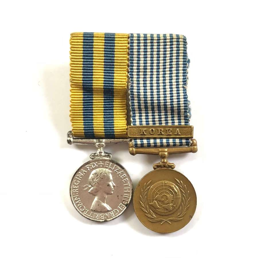 Korean War Medal Pair of MINIATURE Medals.