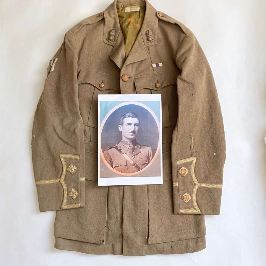 WW1 Royal Horse Artillery Attributed Military Cross Winners Tunic.
