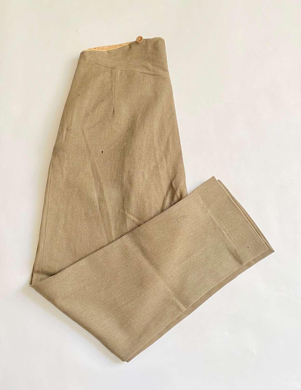 WW1 Period Officer Servicedress Trousers.