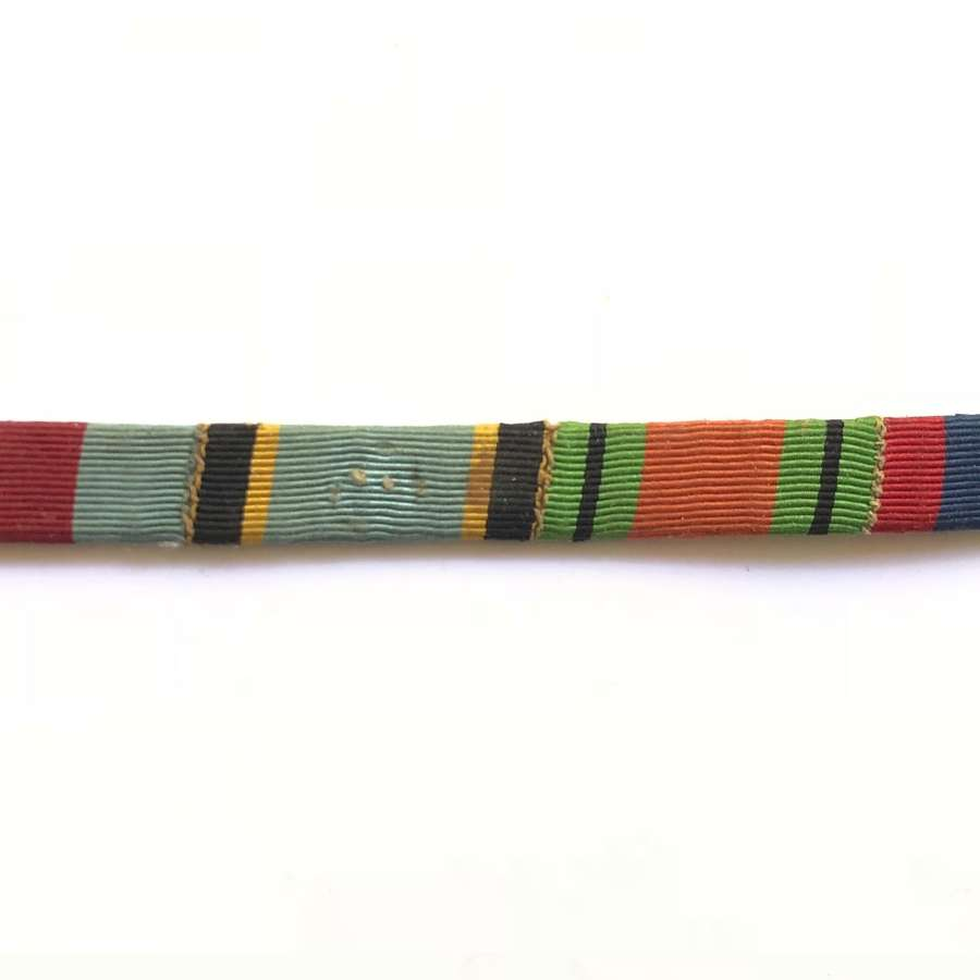 WW2 Period RAF Aircrew Europe Star Uniform Ribbon Bar.