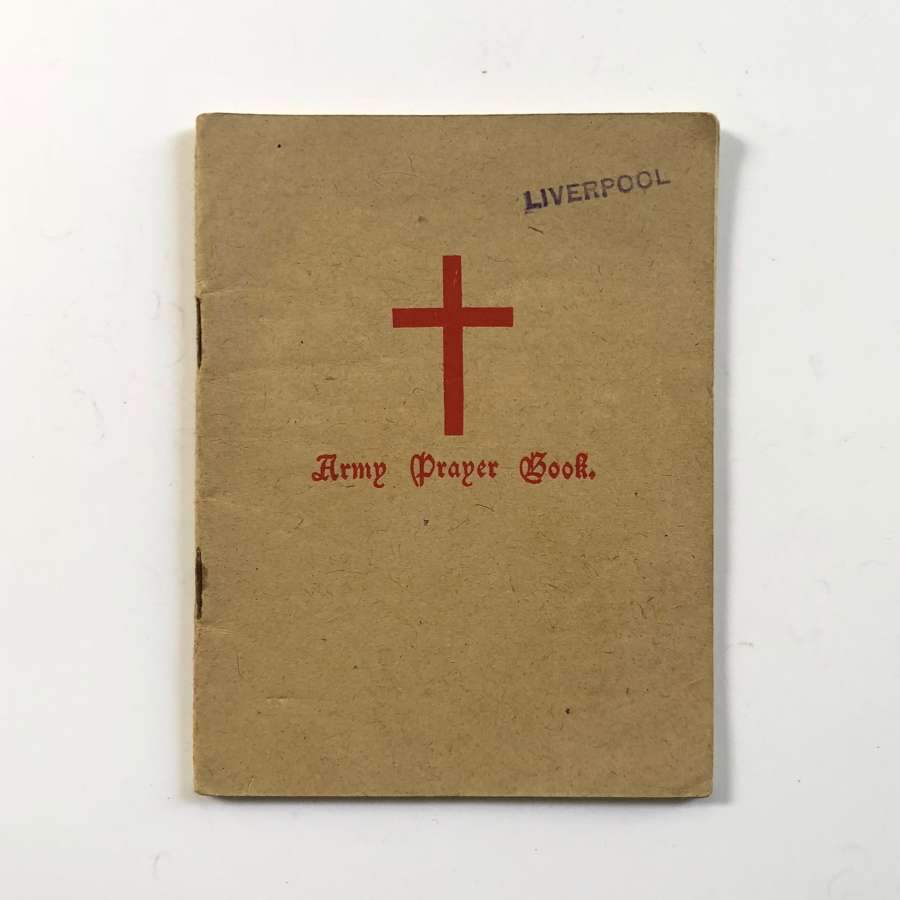 WW2 1943 Army Prayer Book.