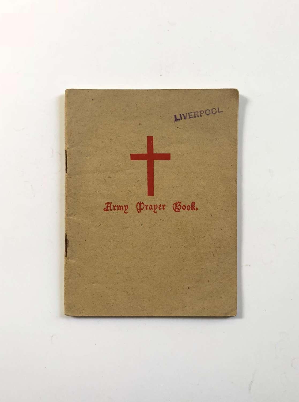 WW2 1943 Army Prayer Book.
