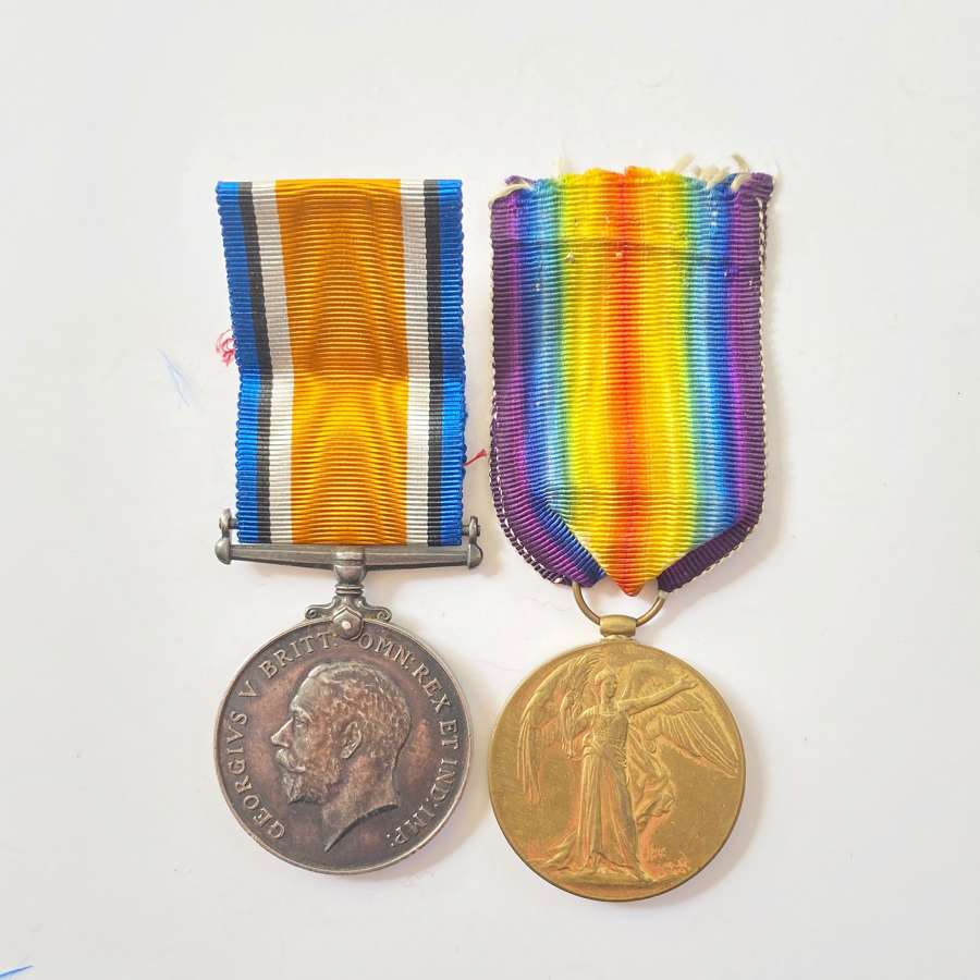 WW1 RAF Pair of Medals.