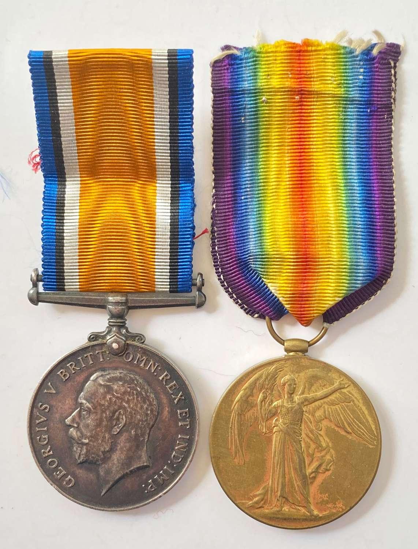 WW1 RAF Pair of Medals.