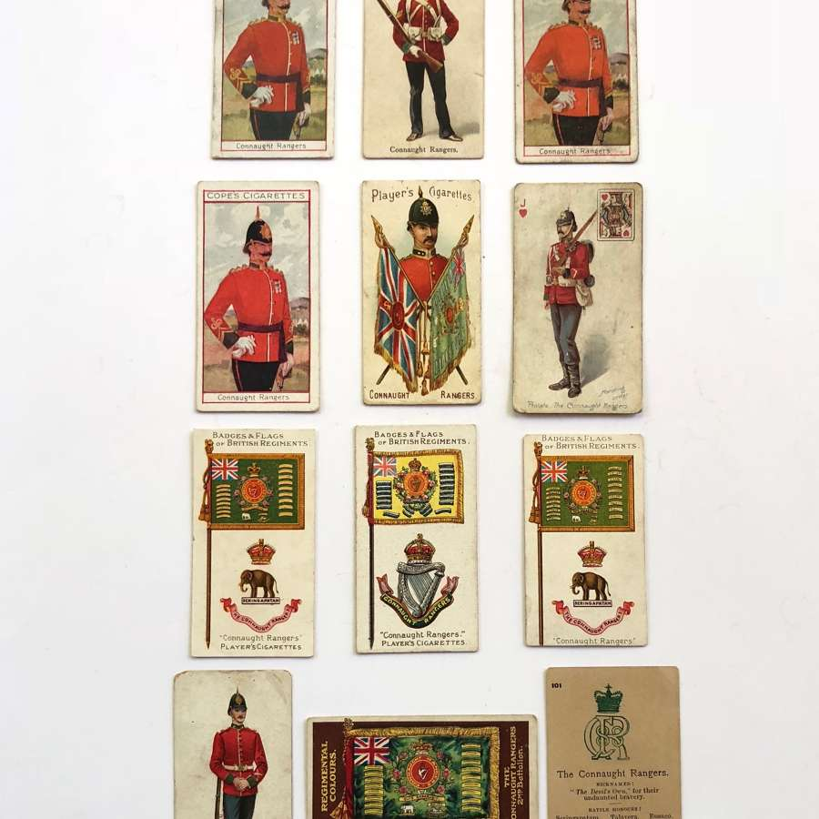 Irish Connaught Rangers Cigarette Cards.