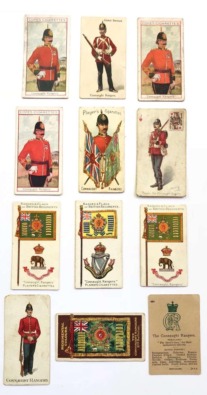 Irish Connaught Rangers Cigarette Cards.