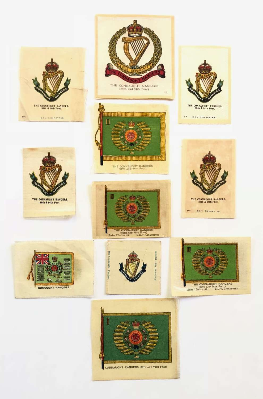Irish Connaught Rangers Silk Cigarette Cards.