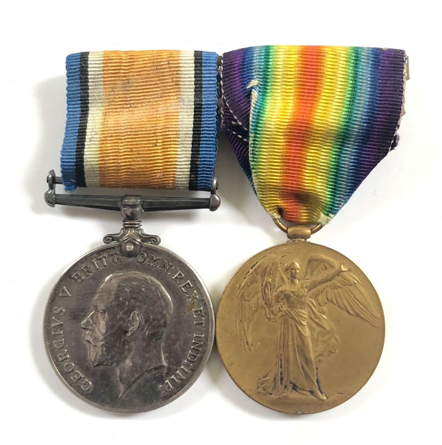 WW! Rifle Brigade / London Regiment Medals.
