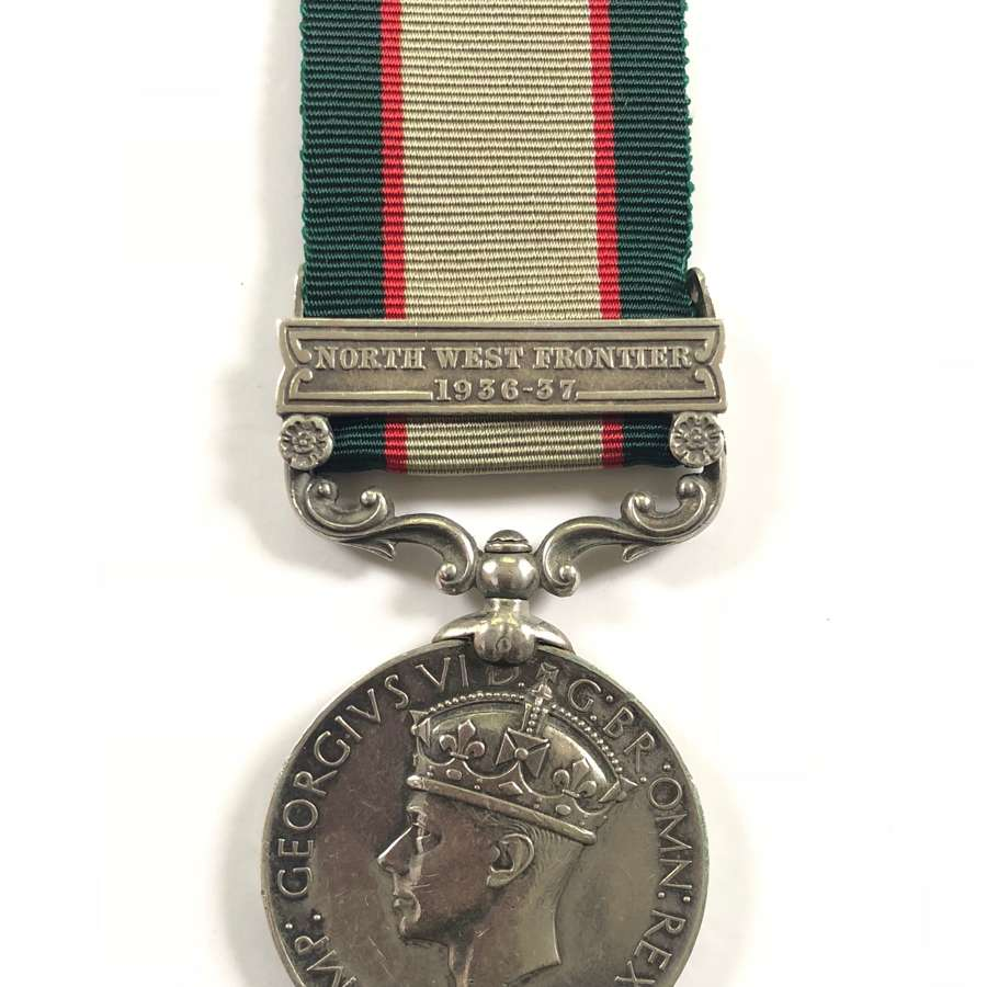 Royal Indian Army Service Corps India General Service Medal.