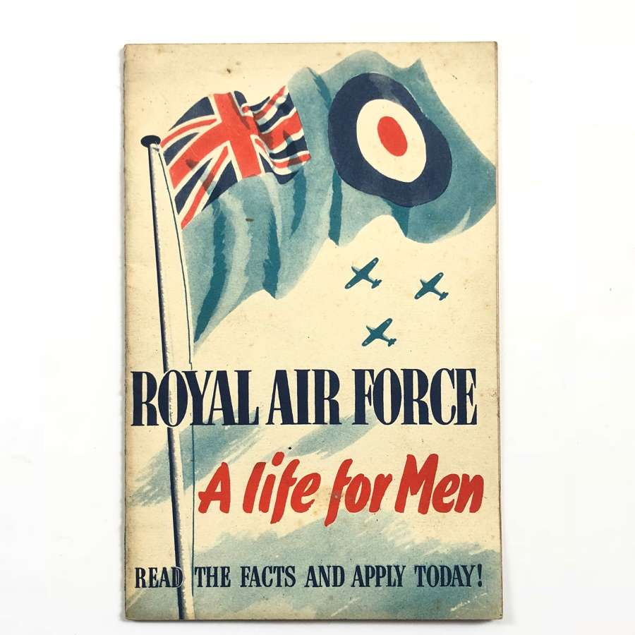 RAF Pre WW2 Recruiting Booklet