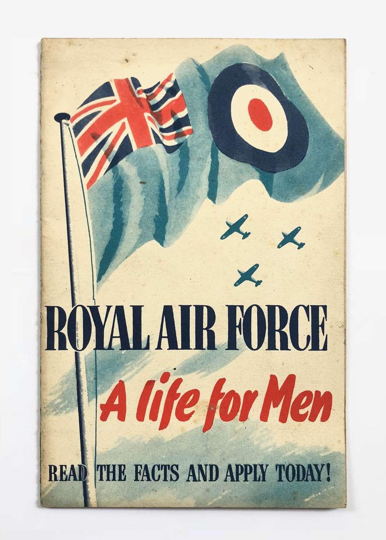 RAF Pre WW2 Recruiting Booklet