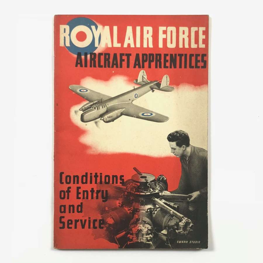 RAF 1938 RAF Aircraft Apprentices Recruiting Booklet
