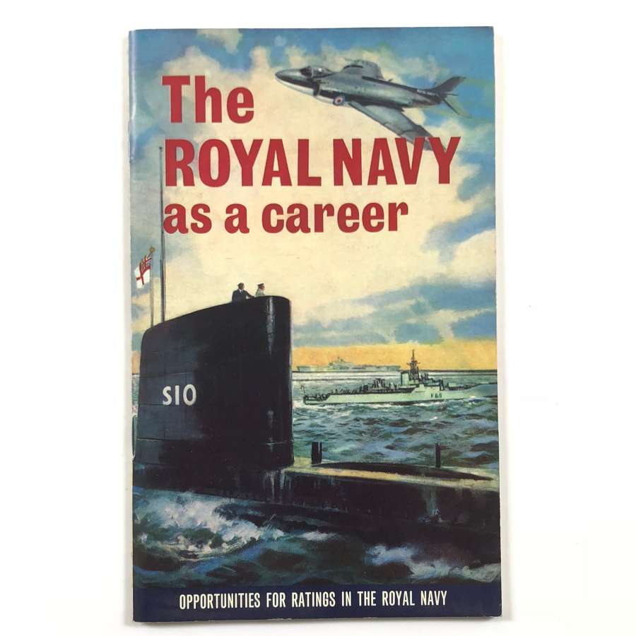 Royal Navy Cold War Period Recruiting Booklet.