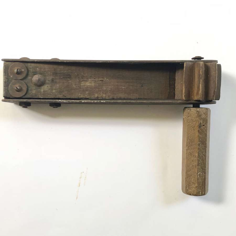 WW1 1918 Dated  British Army Gas Rattle