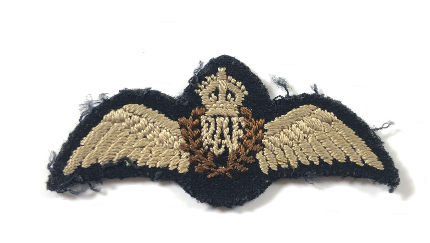 WW2 RAF Pilot's half size wings worn by foreign nationals.