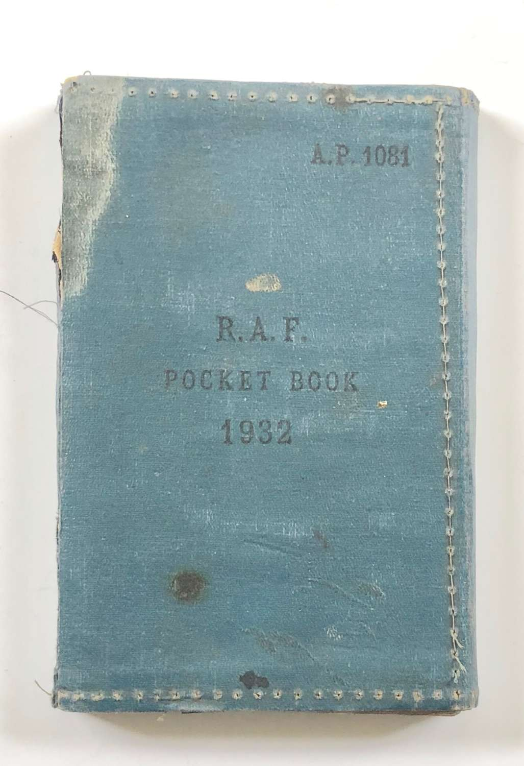 WW2 RAF Attributed Airman's Pocket Book.