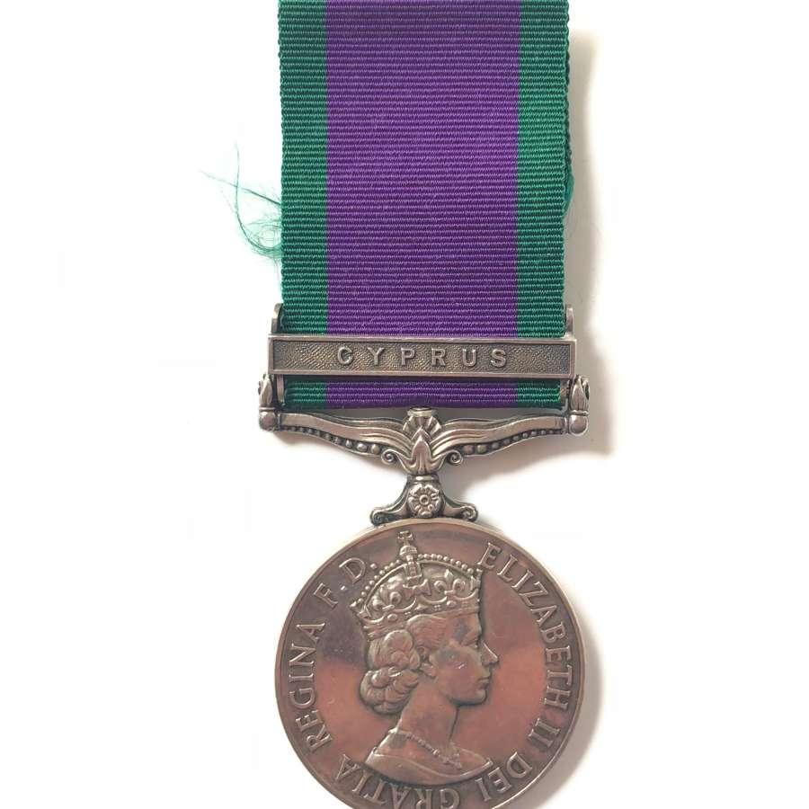RAOC Campaign Service Medal