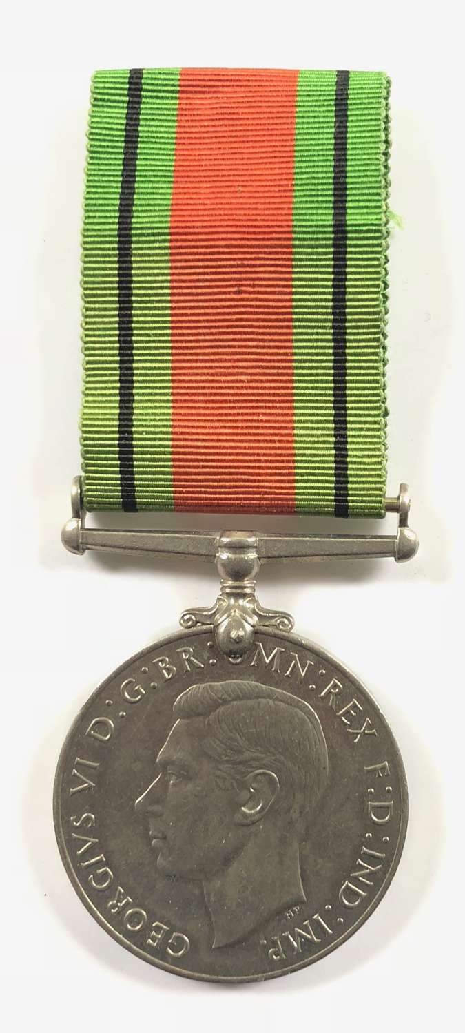 WW2 Defence Medal.
