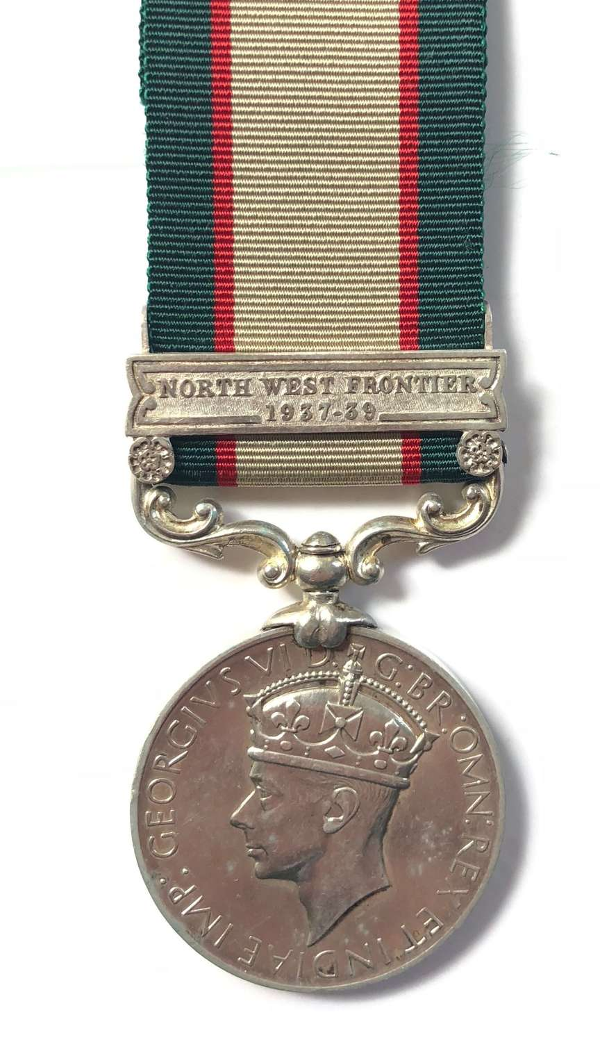 South Waziristan Scout 1936 India General Service Medal.