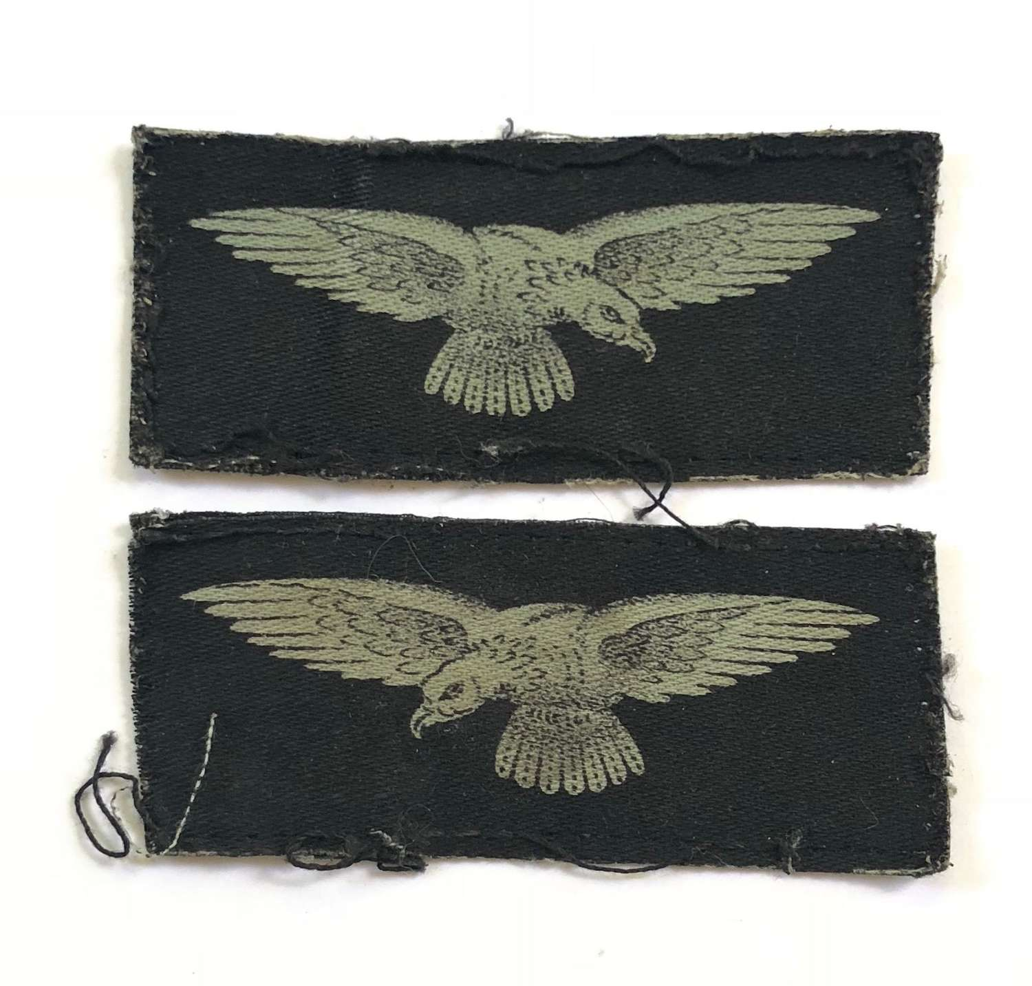 WW2 RAF Printed Shoulder Eagles.