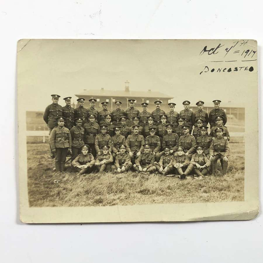 WW1 1917 Manchester Pals Original Photograph.