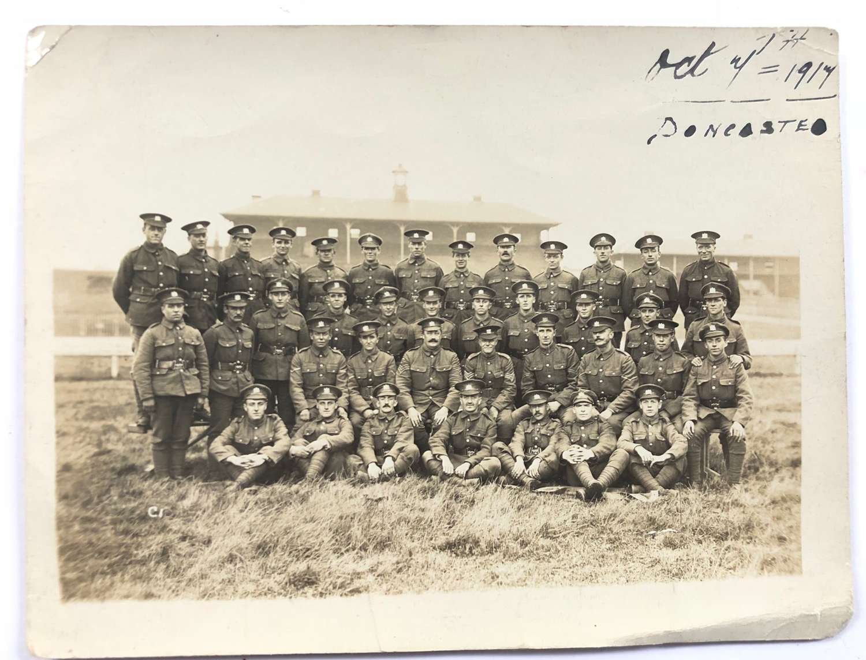 WW1 1917 Manchester Pals Original Photograph.