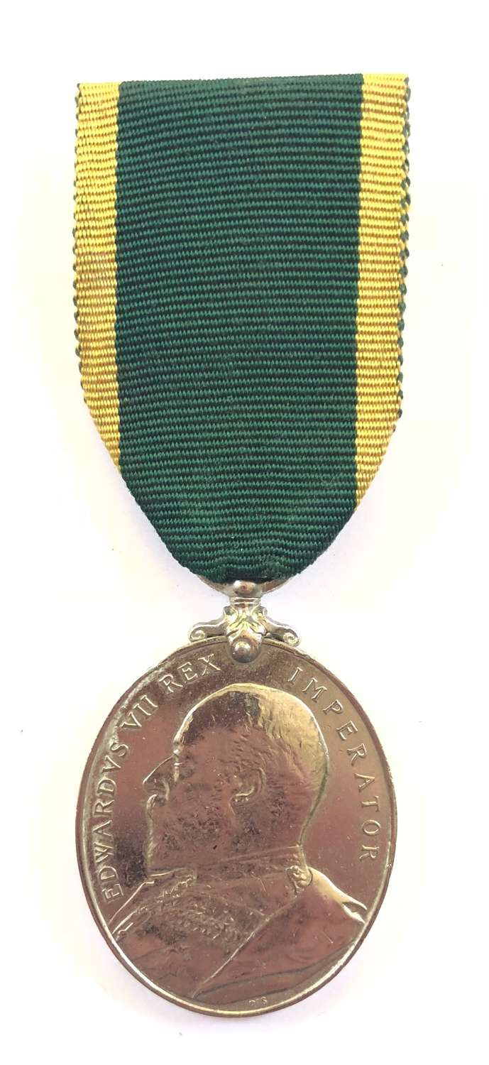 Edwardian 5th (Cinque Ports) Royal Sussex Regiment Territorial Medal