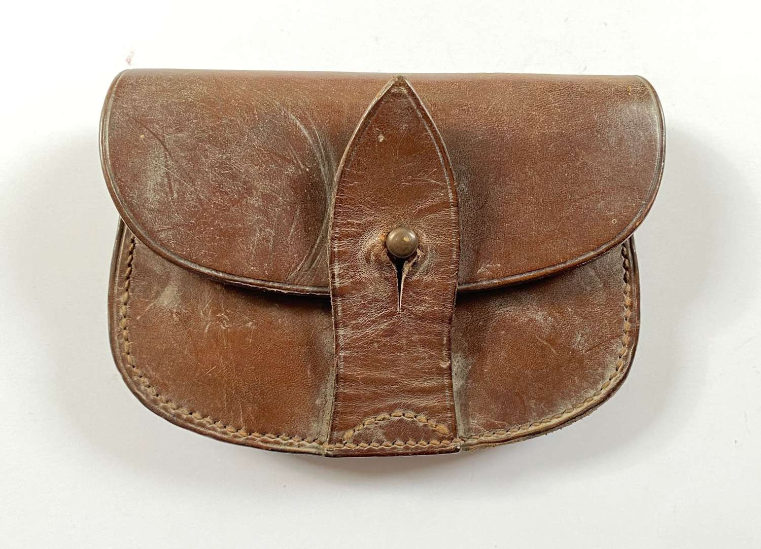 WW1 Pattern Officer's Sam Brown Ammunition Pouch.