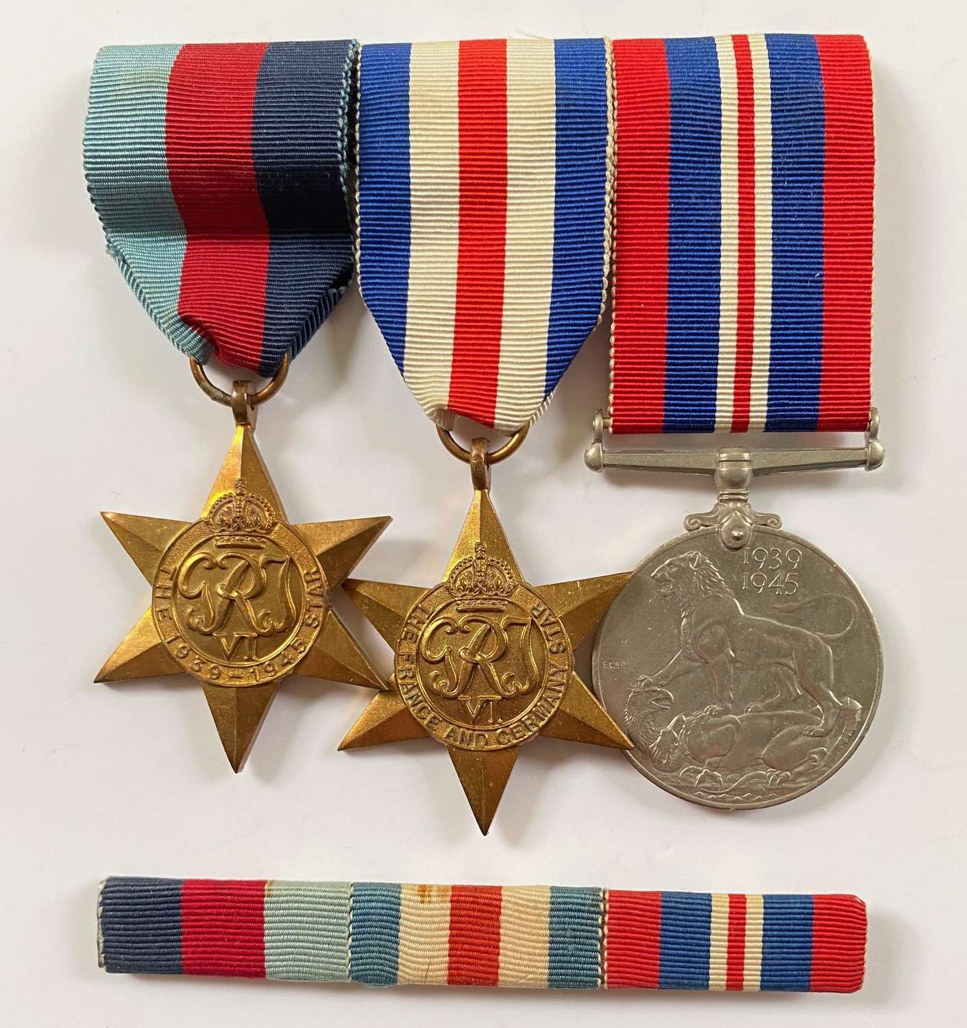 WW2 Navy Army & RAF North West Europe Campaign Medals.