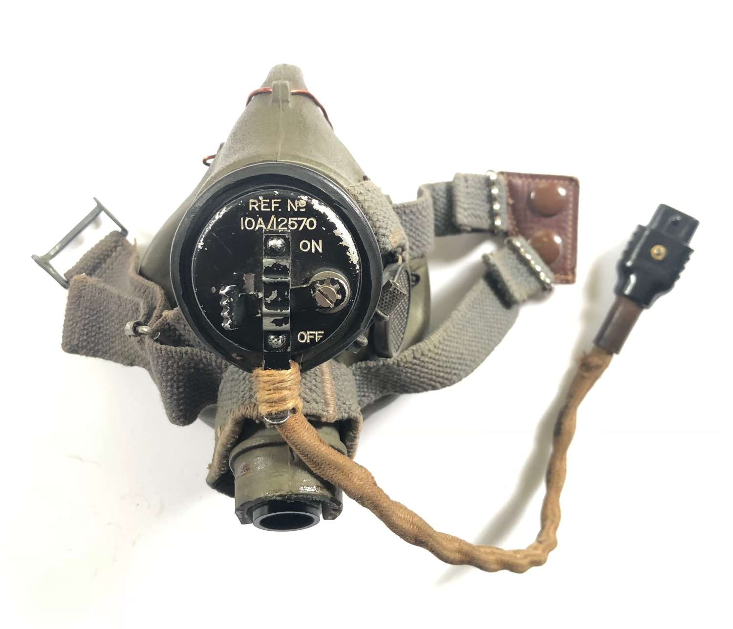 WW2 RAF Aircrew G Type Oxygen Mask.