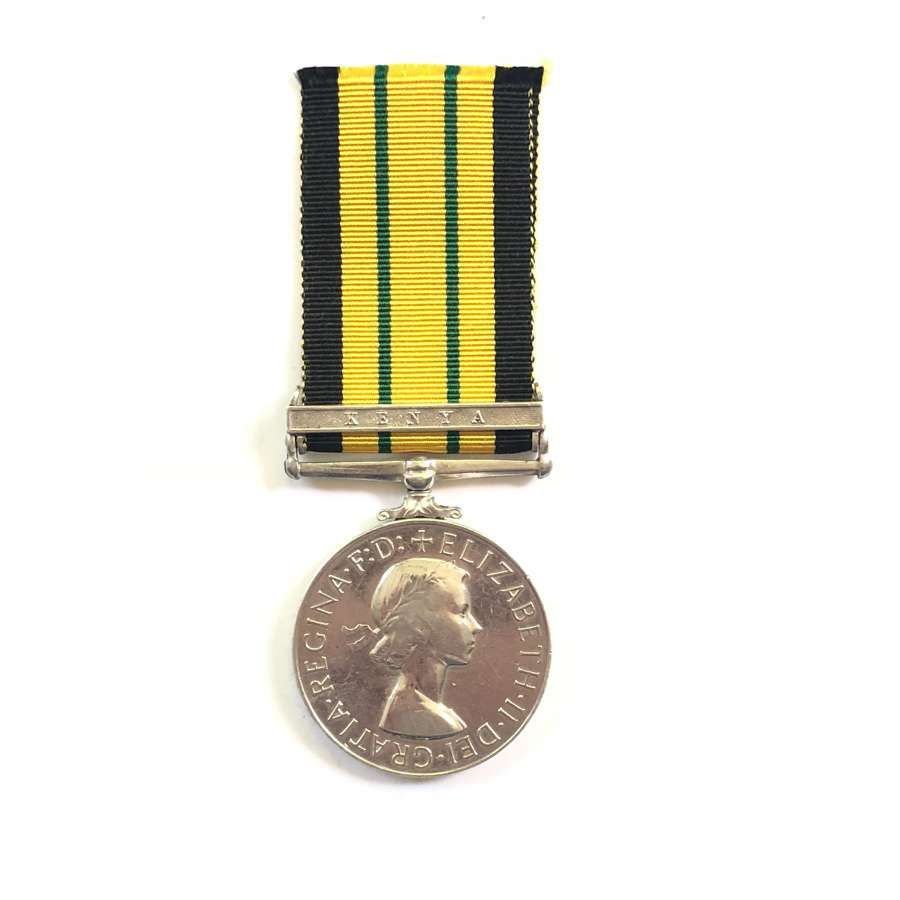 Royal Air Force Africa General Service Medal. Clasp Kenya.