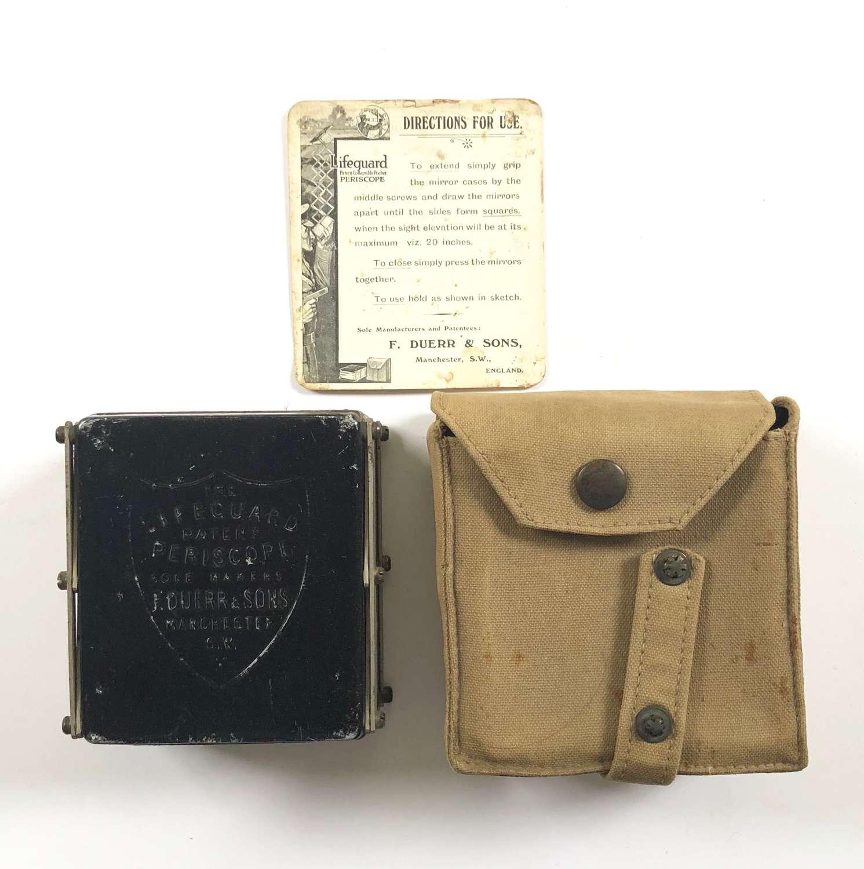 WW1 British Army Private Purchase Life Guard Trench Periscope