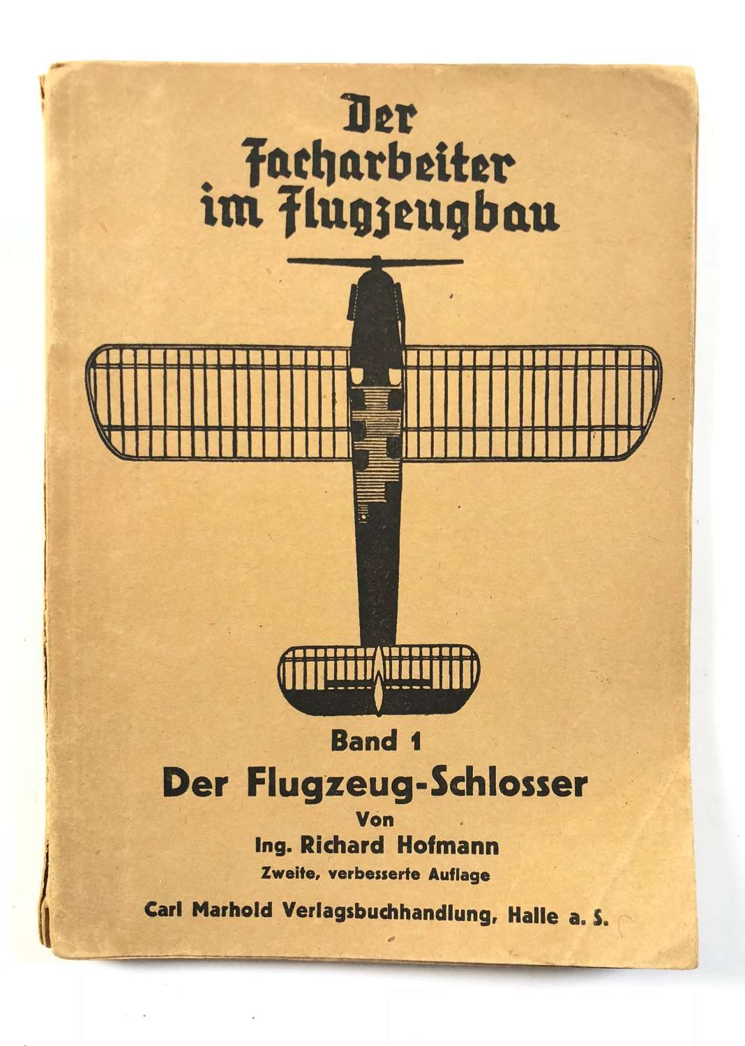 WW2 German 1944 Book on Aircraft Making Etc.