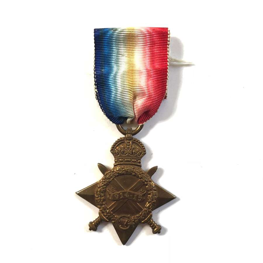 Canadian 24th Bn CEF 1914/15 Star Medal