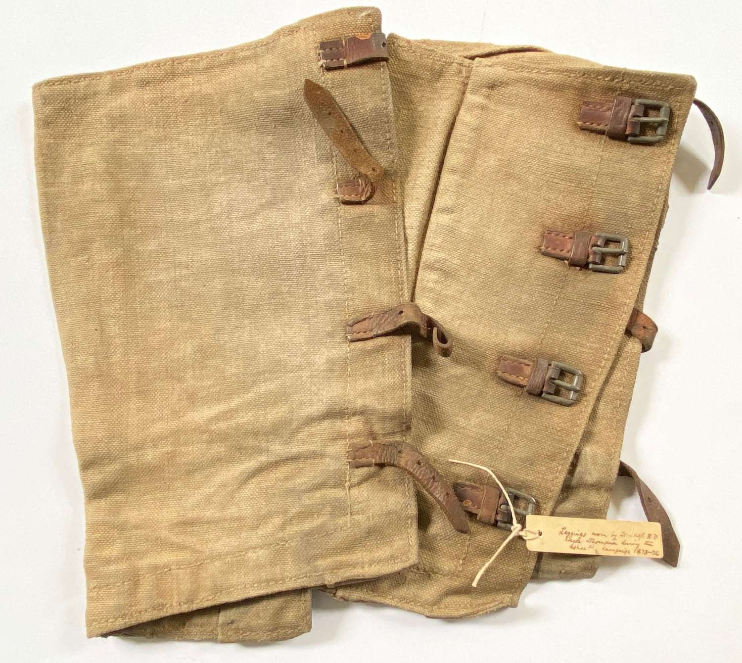 Rifle Brigade Ashanti Campaign 1873-74 Attributed Officer's Leggings