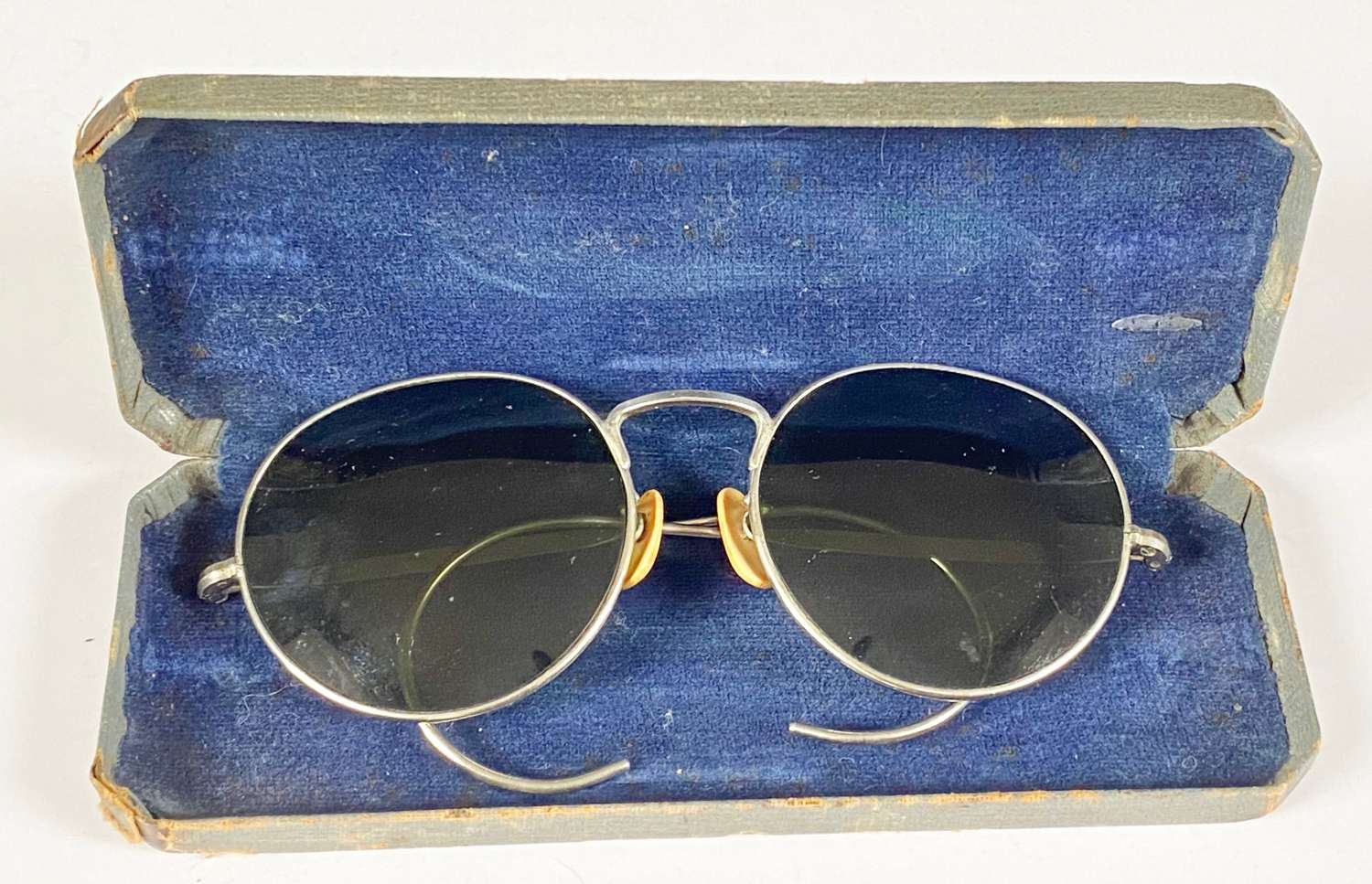 WW2 Pattern  RAF Aircrew Flying Spectacles Sun Glasses.