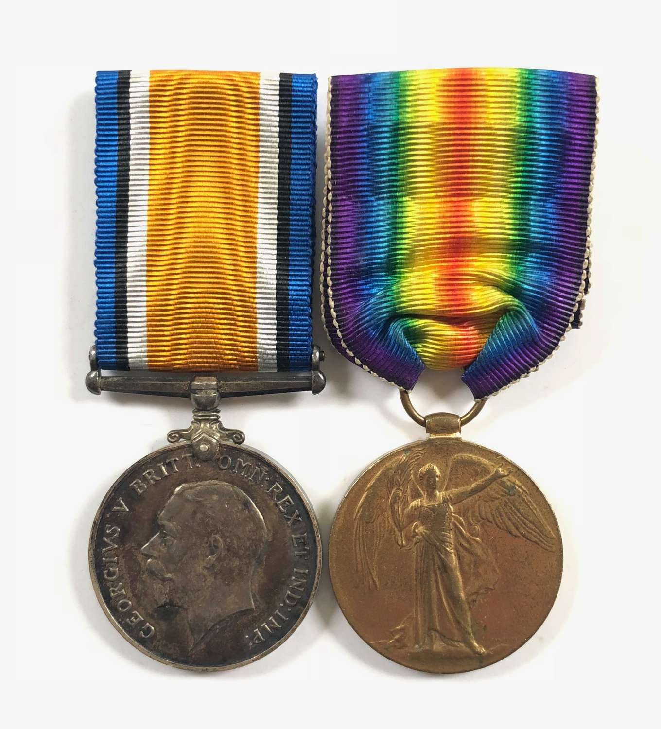 WW1 6th Bn Somerset Light Infantry Pair of Medals