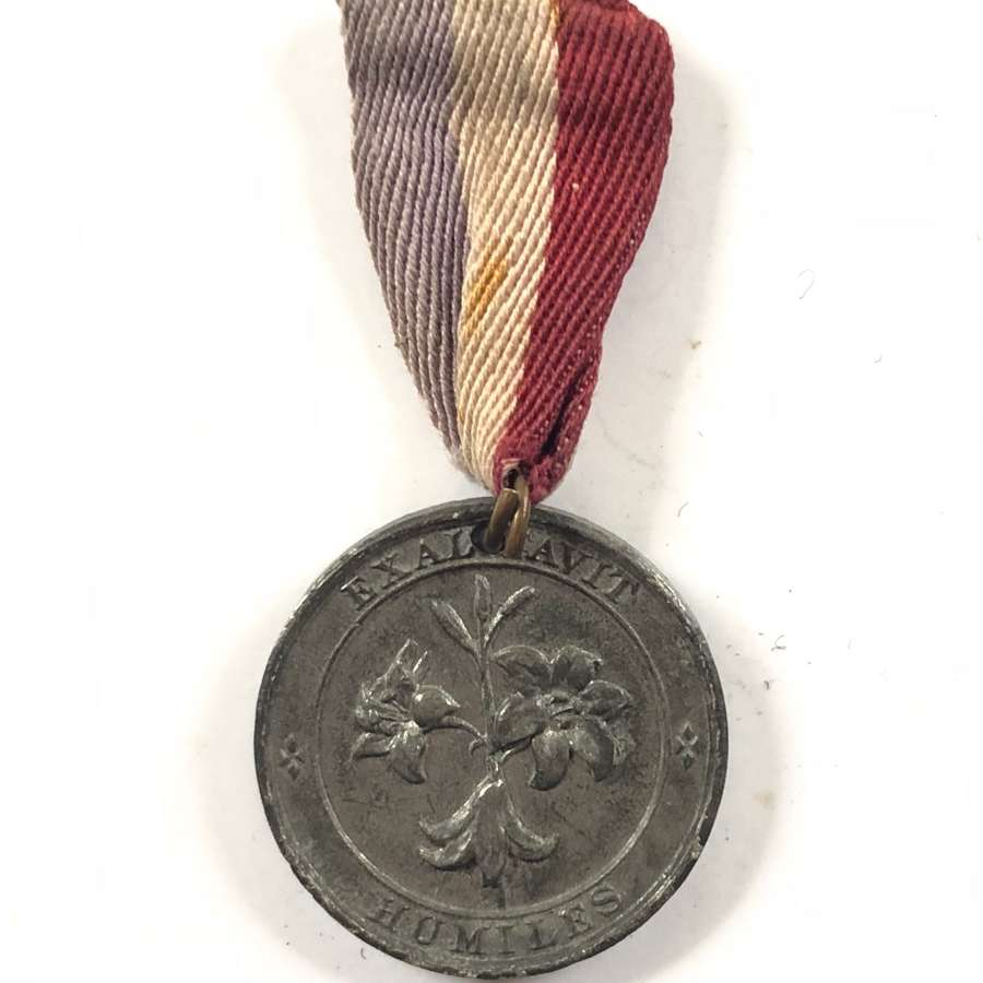WW1 1919 Warwickshire Erdington Peace Medal.