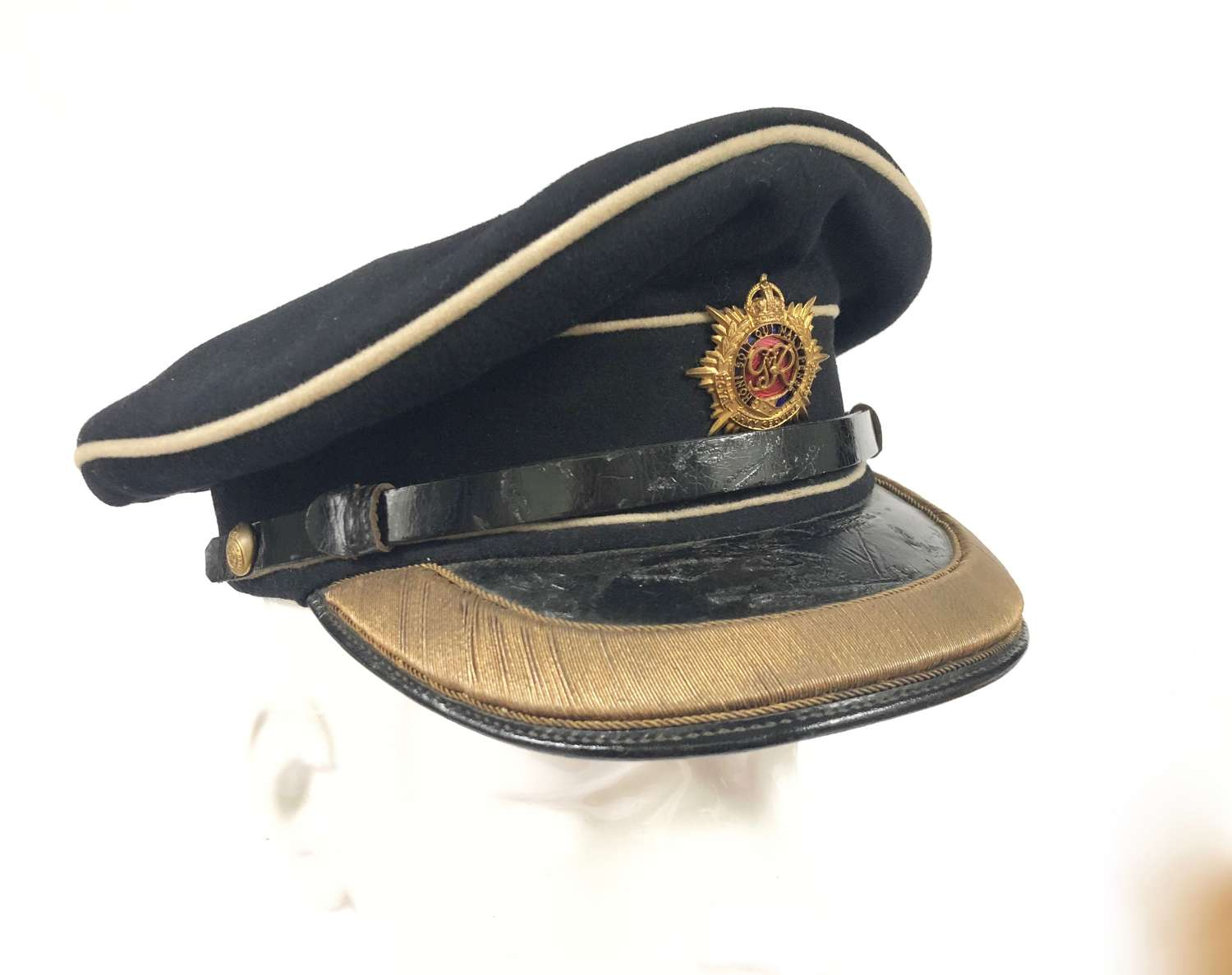Royal Army Service Corps GVIR Period Officer's Dress Cap.