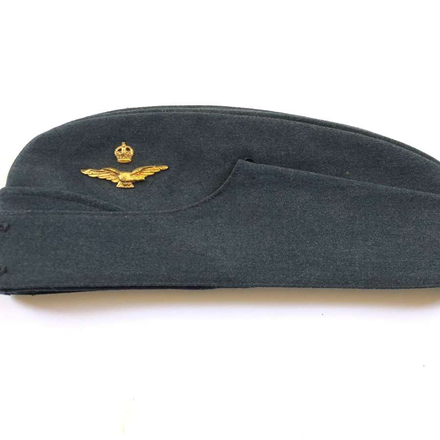 WW2 RAF Officer's Side Cap.
